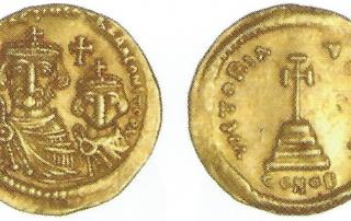 Heraclius with Heraclius Constantine